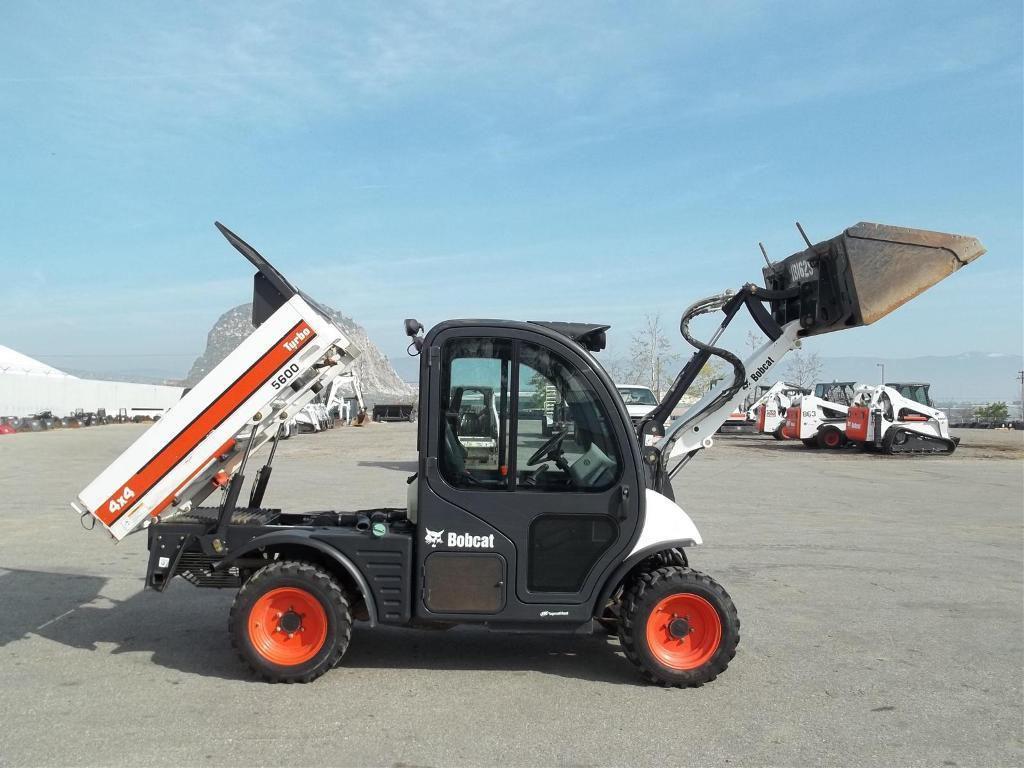 2012 Bobcat Toolcat 5600